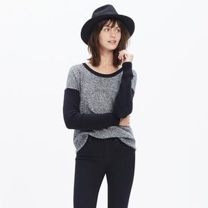 MADEWELL Chronicle Texture Pullover Colorblock Q22